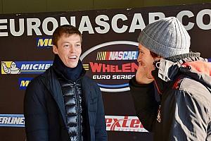 Kvyat proeft aan Euro NASCAR tijdens test in Italië