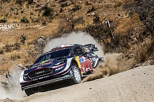 WRC Breaking news Evans' co-driver hospitalised after high-speed roll