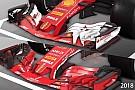 Fórmula 1 VIDEO: cómo el Ferrari F1 2018 se diferencia de su predecesor