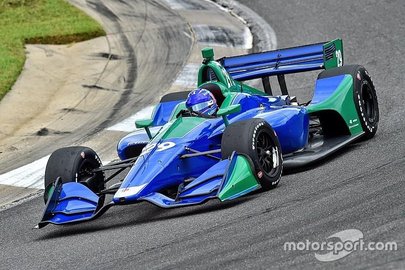Alonso, Barber'de IndyCar aracını test etti!