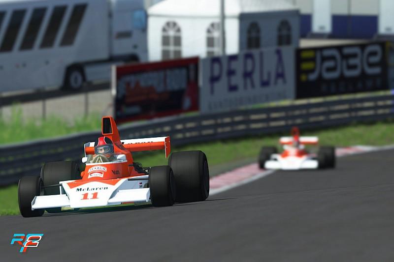 El McLaren Shadow Project también contará con coches clásicos en 'rFactor 2'