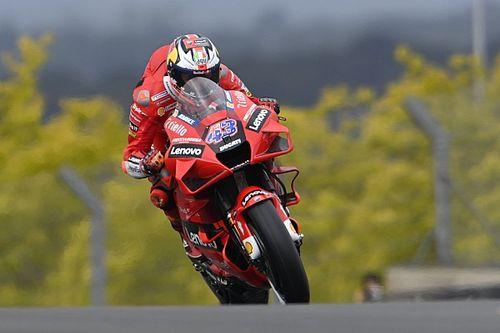 French MotoGP: Miller dominates damp opening practice