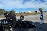 Palou finaliza tercero en el primer día de test en Sebring con Ganassi