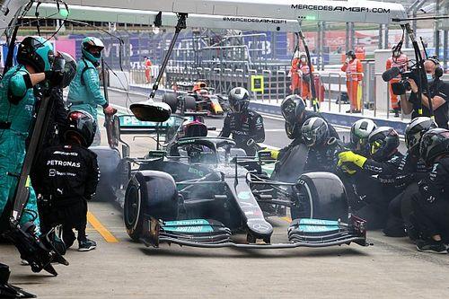 """Mercedes: """"Los estrategas se mantuvieron firmes en boxes"""""""