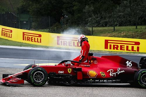 Binotto: La maniobra de Stroll sobre Leclerc fue incomprensible