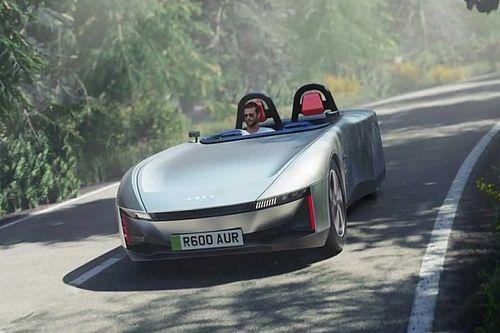 Elektromos roadster-tanulmánnyal jelentkezett egy brit cégekből álló csoport