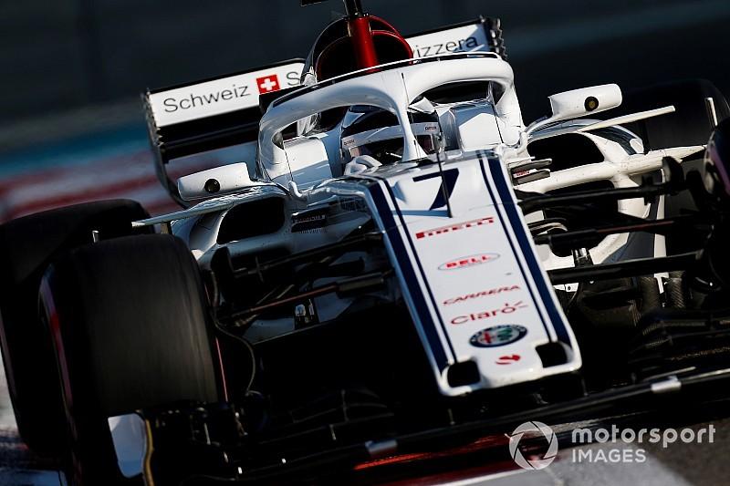 Fotogallery F1: Kimi Raikkonen torna sulla Sauber dopo 17 anni