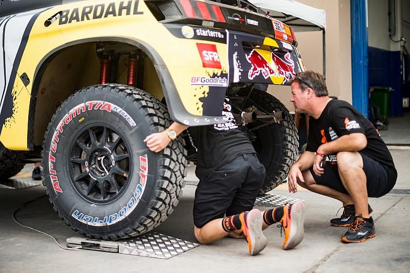 Dakar, Loeb sfortunato: