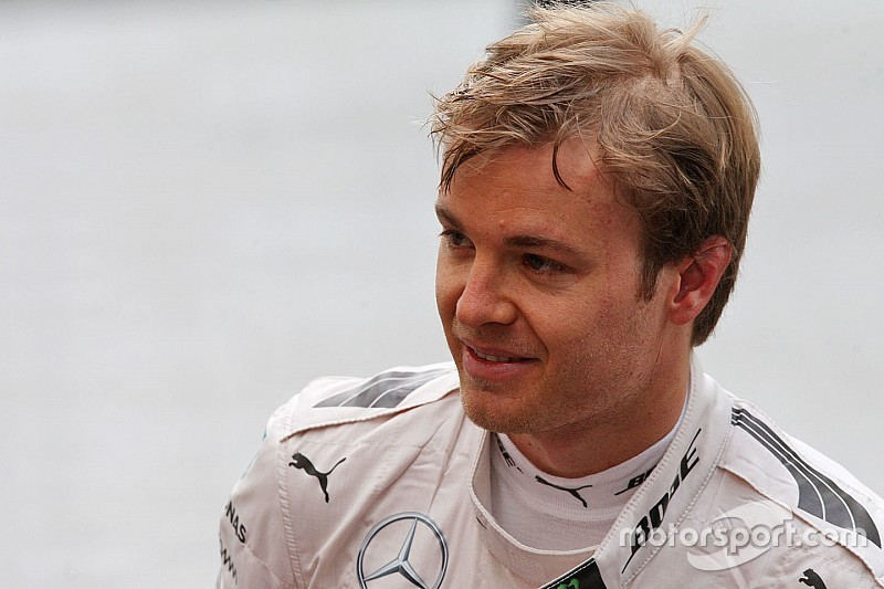 """""""We already know where we are,"""" says upbeat Rosberg"""