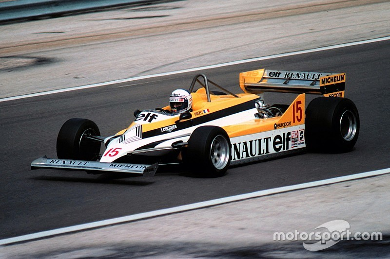 Gallery: All Renault F1 cars since 1977