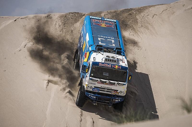 Дакар-2018, Етап 11: найкращі світлини вантажівок
