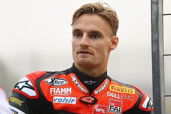 Superbike-WM Jerez-Test: Chaz Davies zieht sich Knieverletzung zu