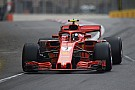 Raikkonen a threat if Ferrari rolls dice - Mercedes