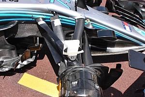 Formula 1 Analisi Mercedes: più angolo di sterzo nella sospensione anteriore