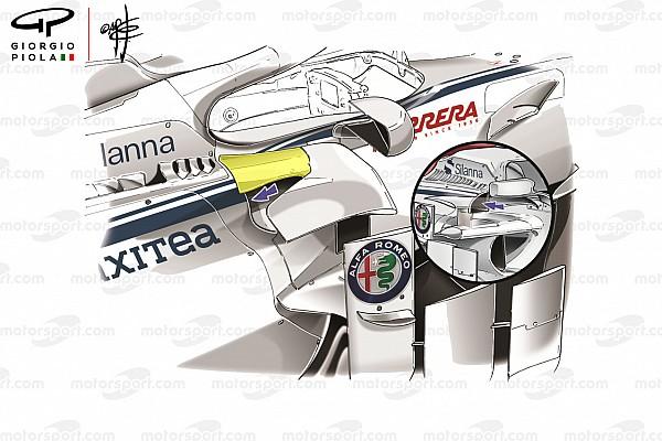 Formula 1 Sauber introduces its biggest update yet