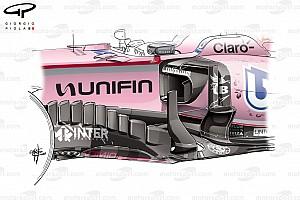Formula 1 Analisi Force India: promossa la paratia verticale del bargeboard