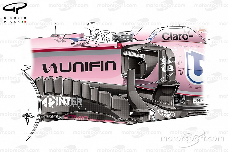 Comment Force India a lutté pour le podium au Mexique