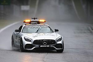 F1 Reporte de calificación El temor de la FIA retrasó la clasificación de Italia más de 2 horas y media