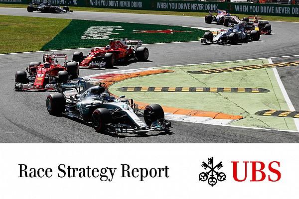 فورمولا 1 مدوّنة جايمس ألين: استراتيجيّة السباق في مونزا