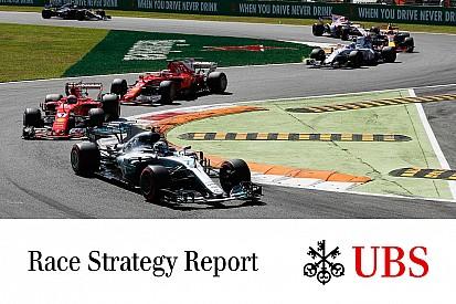 Formula 1 James Allen: il report UBS sulle strategie della gara di Monza