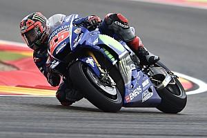 MotoGP Son dakika Vinales ıslak zeminde geride kaldığı için