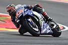 Viñales le pide a Yamaha mejorar la moto en mojado