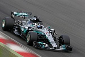 Formula 1 Testing report Barcelona F1 test: Bottas keeps Mercedes on top, Raikkonen crashes