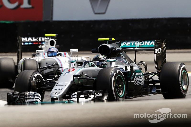 Brazilian GP: Rosberg pips Hamilton in final practice