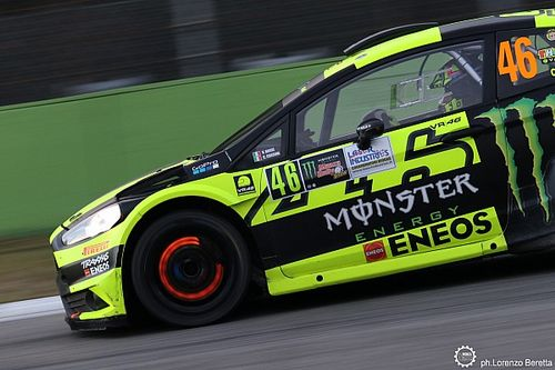 Fotogallery: la Ford Fiesta RS WRC di Valentino Rossi