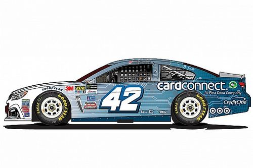 New sponsor joins Kyle Larson for NASCAR playoffs