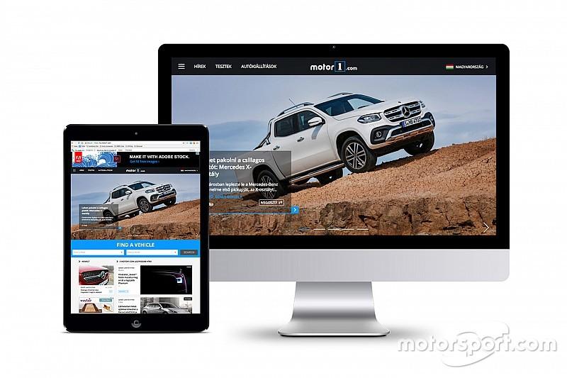 Motor1.com Macaristan sürümüyle büyümeye devam ediyor