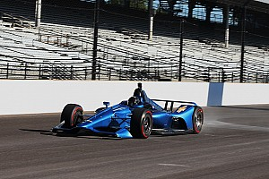 IndyCar Breaking news New IndyCar design for 2018 hits the track at Indianapolis