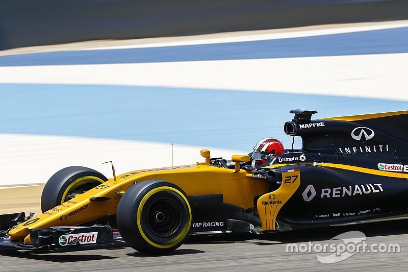 Renault: nei test in Bahrain ha debuttato il mozzo forato
