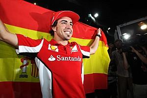 Todas las victorias de Fernando Alonso en Fórmula 1