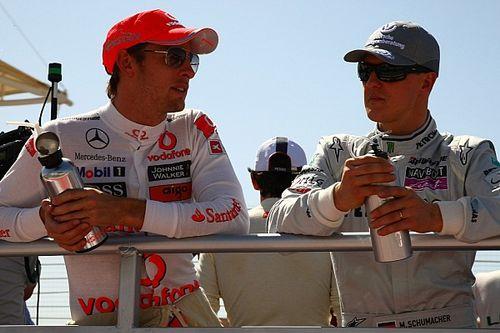 "Button: ""Mick Schumacher'i, Michael'la kıyaslamak doğru değil"""