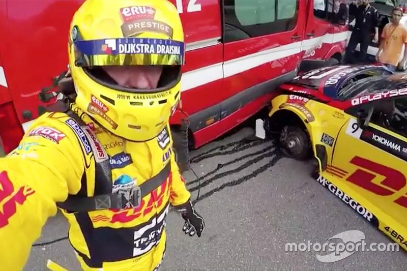 Tom Coronel, Roal Motorsport, Chevrolet RML Cruze TC1 después del choque