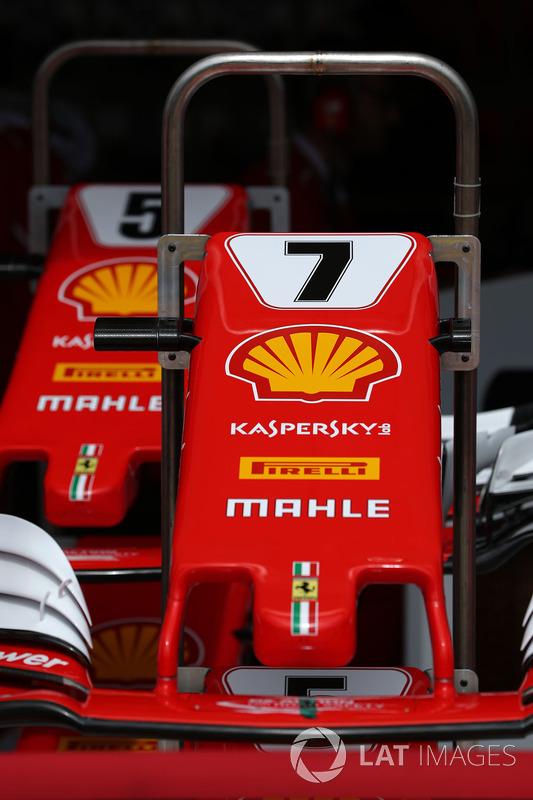 Переднє антикрило Ferrari SF70-H Кімі Райкконена, Себастьяна Феттеля
