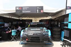 #1 Stefano Comini, Comtoyou Racing, Audi RS3 LMS