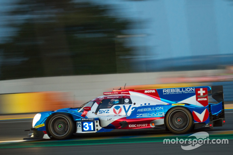 14. LMP2: #31 Vaillante Rebellion Racing, Oreca 07 Gibson