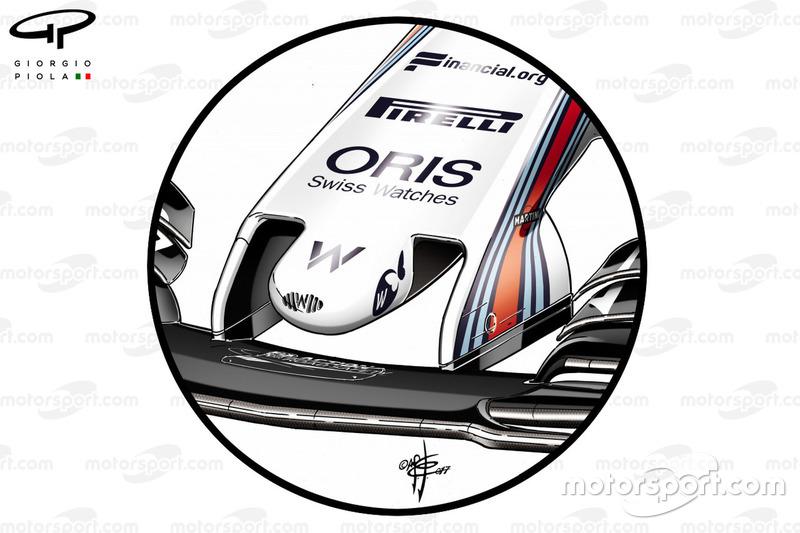Старий ніс Williams FW40