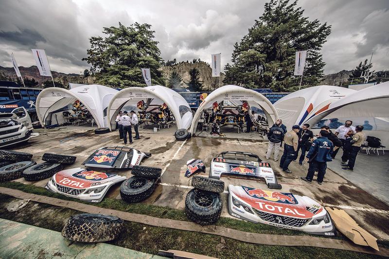 Zona de Peugeot Sport