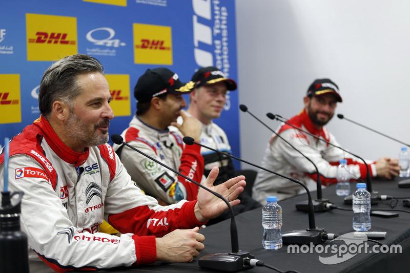 Pressekonferenz: Yvan Muller, Citroën World Touring Car Team, Citroën C-Elysée WTCC