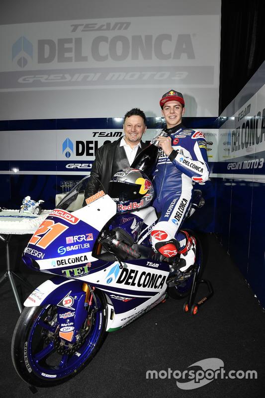 Fabio Di Giannantonio, Gresini Racing Team con Fausto Gresini, Team Manager