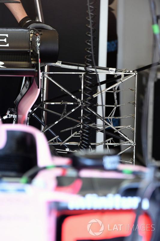 Sahara Force India VJM10: Sensor