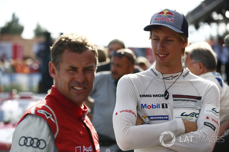 Tom Kristensen, Brendon Hartley