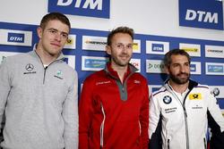 Conferenza stampa: Paul Di Resta, Mercedes-AMG Team HWA, Mercedes-AMG C63 DTM, René Rast, Audi Sport Team Rosberg, Audi RS 5 DTM, Timo Glock, BMW Team RMG, BMW M4 DTM