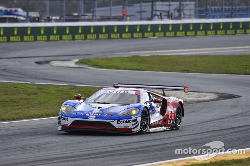 #68 Ford Performance Chip Ganassi Racing Ford GT: Billy Johnson, Stefan Mücke, Olivier Pla