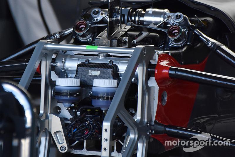 Haas F1 Team detalle del frente