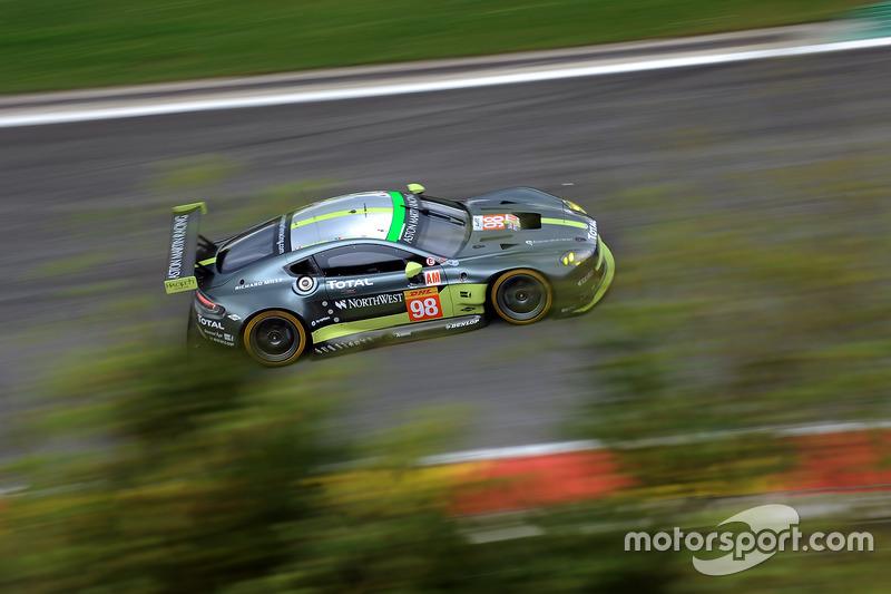 1. GTE-Am: #98 Aston Martin Racing, Aston Martin Vantage