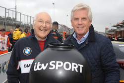 Murray Walker and Steve Rider